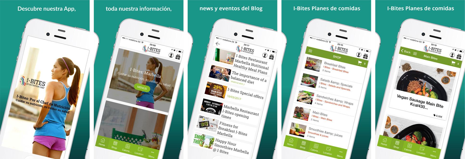 i-bites-marbella-app-design