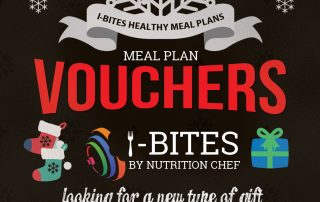 I-Bites Healthy meal Plans for a healthy lifestyle. gift voucers for 2018